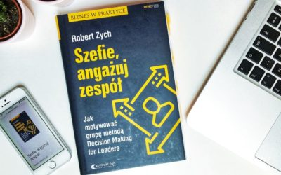 """""""Szefie, angażuj zespół"""" – recenzja książki"""