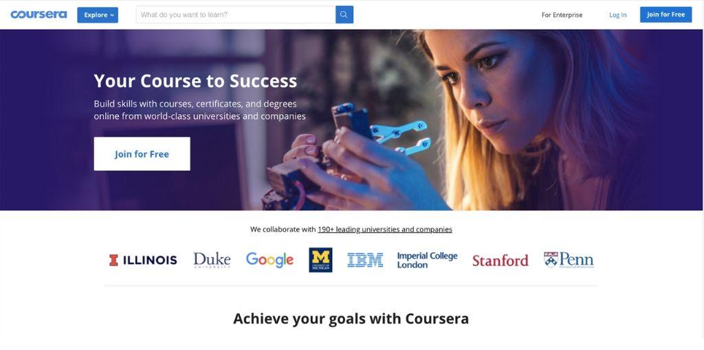 Darmowe kursy online Coursera
