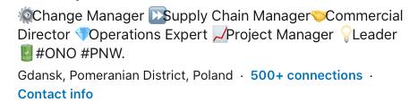 LinkedIn - otwarty na nowe oferty